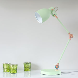 Desk Lamp Mustard Or Green - office & study