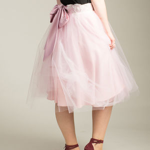 Handmade Soft Tulle And Lace Vintage Inspired Skirt