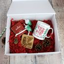 Christmas Eve Box With Scandi Design