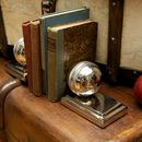 Pair Of Cricket Ball Bookends