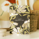 Happy Mother's Day Botanical Flower Card