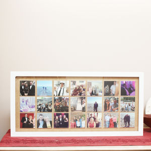 Personalised Long Collage Print