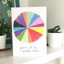 All The Colours Card