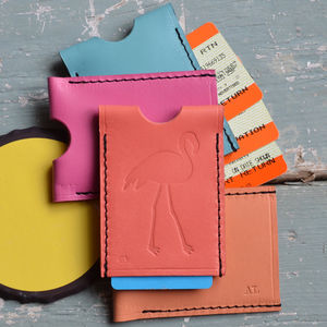 Flamingo Travel Card Holder