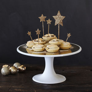 Clarissa Gold Cake Stand - cake stands