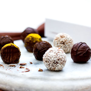 Vegan Friendly Chocolate Truffle Collection Gift Box