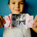 Personalised Origami Flower Photo Keepsake
