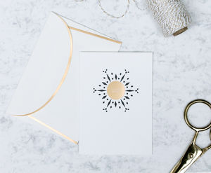 'Festive Wishes' Letterpress Christmas Card - cards & wrap