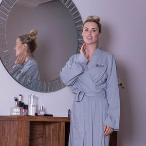Lightweight Jersey Cotton Dressing Gown - bath robes