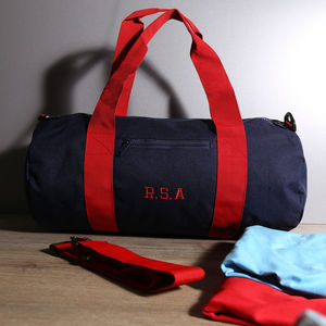 Personalised Gym Bag - holdalls & weekend bags