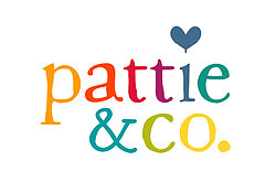 Pattie & Co. Rainbow Muslin Logo