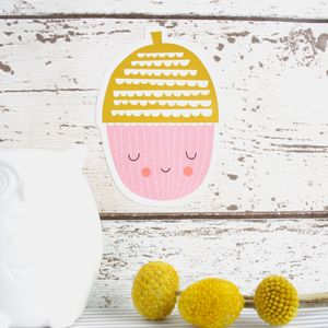 Small Acorn Wall Sticker - new in prints & art