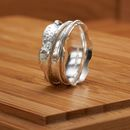 Dainty Dotty Spinner Ring