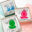 Acrylic Jewellery In Personalised Gift Box