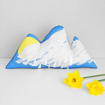 Spring Showers Cloud Cushion