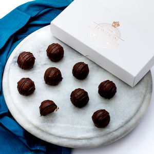 Vegan Friendly Dark Chocolate Gin Truffles