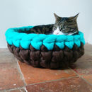 Cat Bed Crochet Wool Chunky Yarn Choice Of Colours