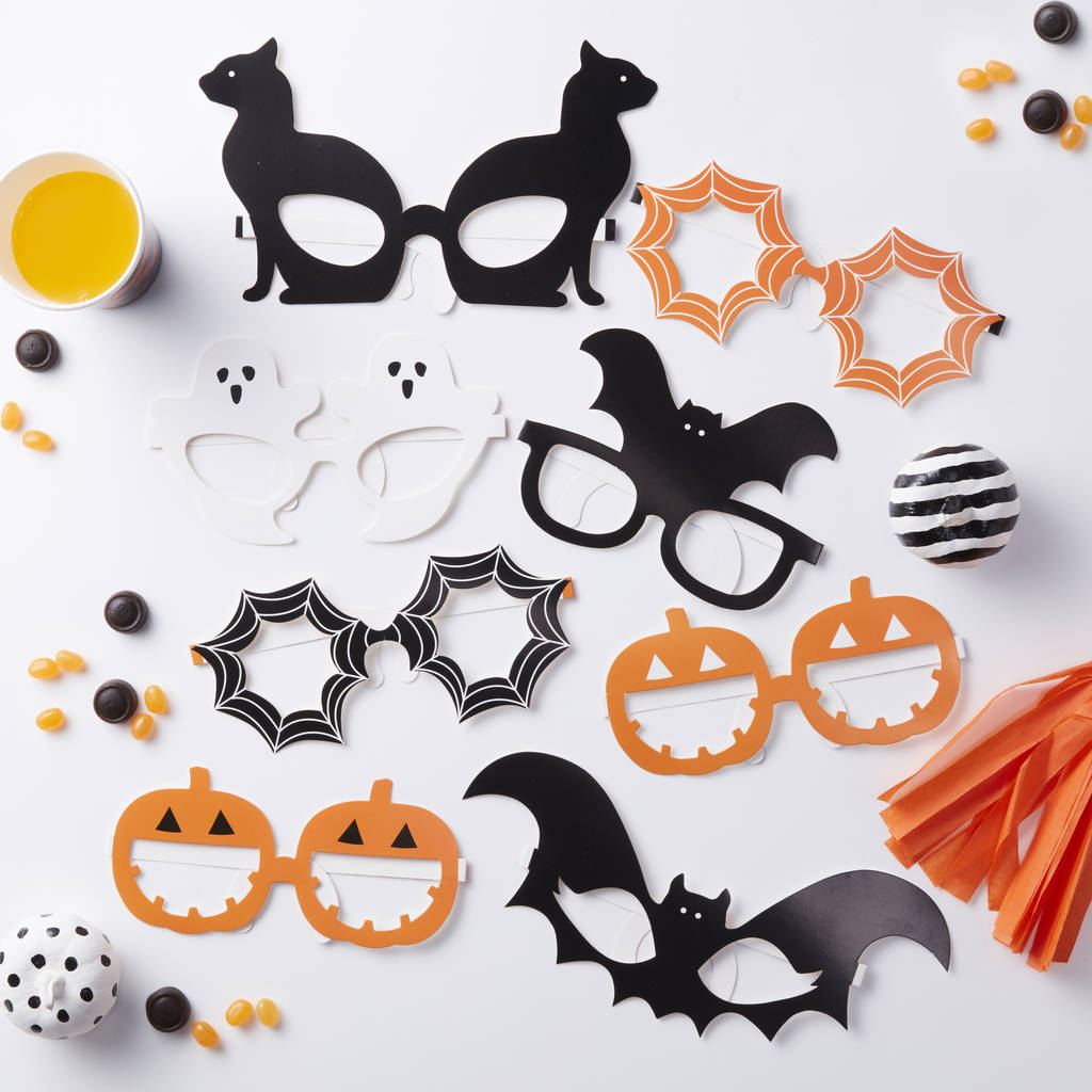 Halloween Themed Funglasses Pumpkin Party