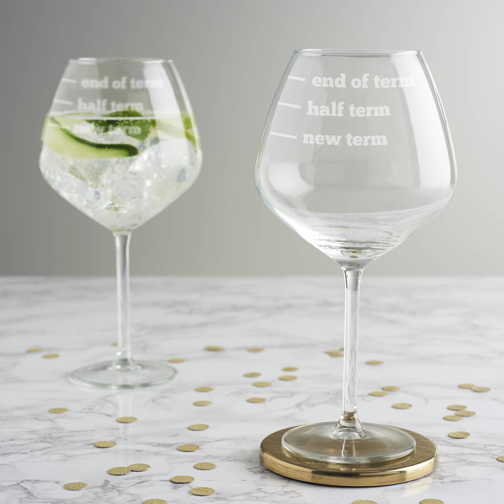 B And M Gin Glasses