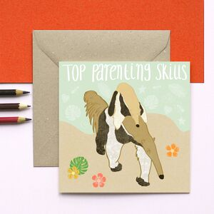 Anteater Top Parenting Skills Card