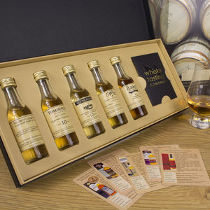 Single Malt Whisky Gift Set - personalised gifts for him