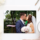Pearl Personalised Wedding Photo 'Thank You' Cards