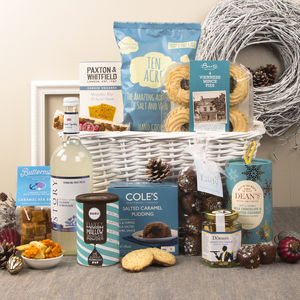 Let It Snow Christmas Gift Hamper - chocolates & confectionery