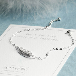 silver feathers feather anklet appear product