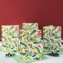 Botanical Christmas Wrapping Paper