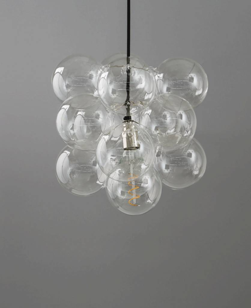 Bubble chandelier light by dowsing reynolds notonthehighstreet bubble chandelier light aloadofball Images