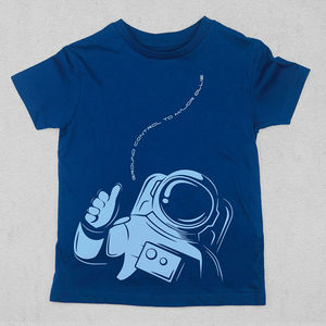 Personalised Ground Control To Major T Shirt