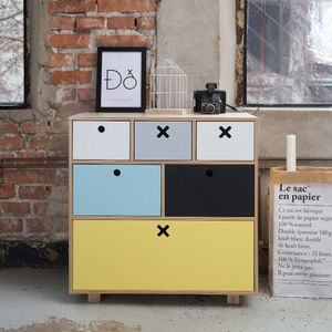 Childrens High Chest Drawers - baby's room