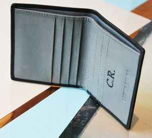 Personalised Mens Slim Classic Wallet - gifts for him