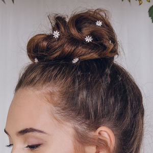 Flower Wedding Hairpins Set Daisy - what's new