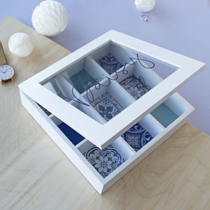 Personalised White Wooden Jewellery Box - what's new