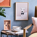 Personalised Illustrated Pet Portrait Print, Unframed