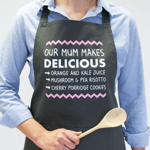 Personalised You Make Delicious Food Apron
