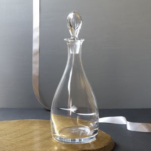 Teardrop Glass Decanter