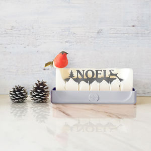 'Noel' Hidden Message Candle - gifts with hidden messages