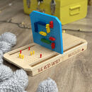 Personalised Wooden Battleships
