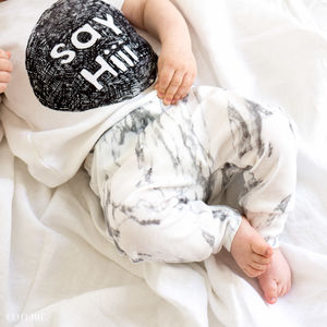Marble Baby And Toddler Leggings
