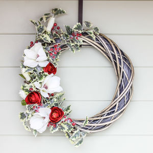 The Magnolia Christmas Wreath - wreaths