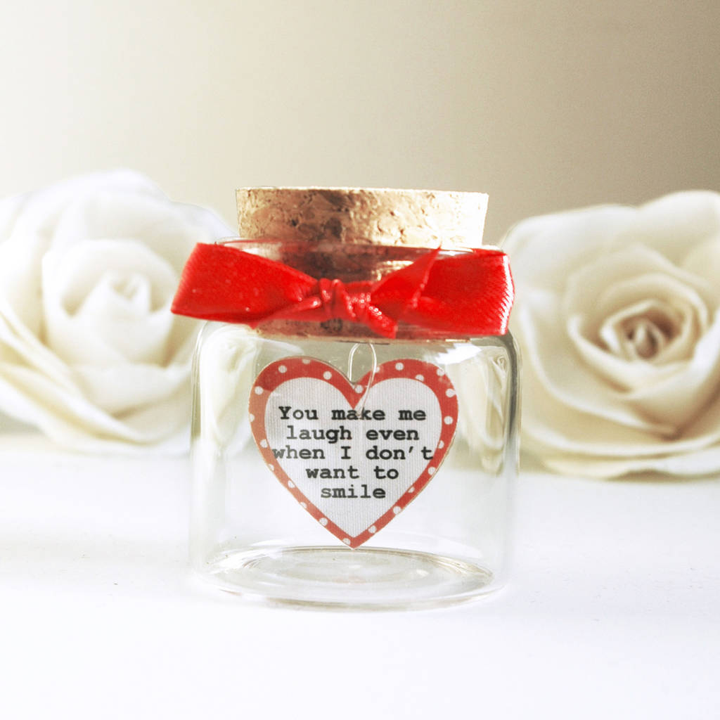 personalised love message in bottle by munchkin creative ...
