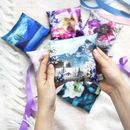Silk Lavender Bags With Poetry