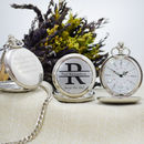 Personalised Monogram Pocket Watch Quartz