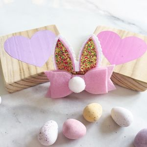 Easter Bunny Ears Hair Clip - whatsnew