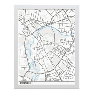 Cambridge Type Map - drawings & illustrations