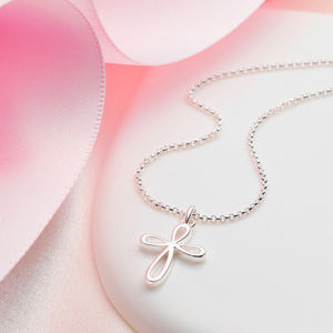 Signature Cherish Cross Necklace