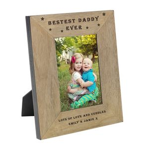 Bestest Daddy Photo Frames