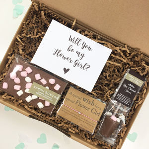 Will You Be My Flower Girl Gift Box - new in wedding styling